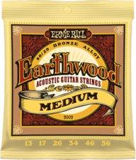 Ernie Ball Earthwood Medium 13-56 Acoustic 80/20 Bronze