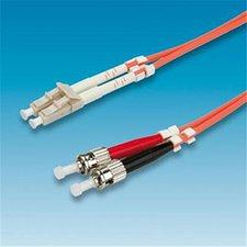 Value LWL Kabel Duplex LC/ST 62,5/125 OM1 5m