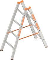 layher 1039 Topic Stehleiter 5 Sprossen