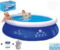 Friedola Quick-Up-Pool-Set 360 x 76 cm mit Filterpumpe