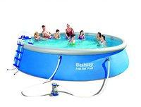 Bestway Fast Pool-Set 549 x 122 cm mit Filterpumpe