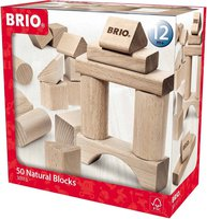 Brio Holzbausteine 50 Teile