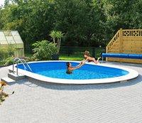 my pool Standard Ovalbecken 490 x 300 x 120 cm ohne Filteranlage