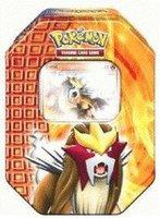 Pokemon PL Tin Deck Box 18 Entei
