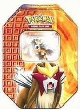 Pokemon PL Tin Deck Box 18 Entei