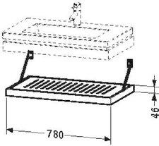 Duravit 2nd Floor Rostablage (6442)