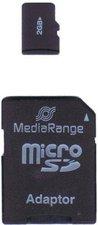 MediaRange microSD 2GB Class 4 (MR950)