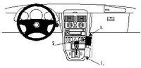 Brodit ProClip Mercedes Benz SLK Bj. 97-04