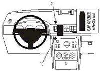 Brodit ProClip Opel Meriva Bj. 03-10