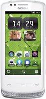 Nokia 700 Silber-Weiß ohne Vertrag