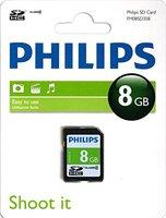 Philips microSDHC 8GB Class 4 (FM08MD35B)