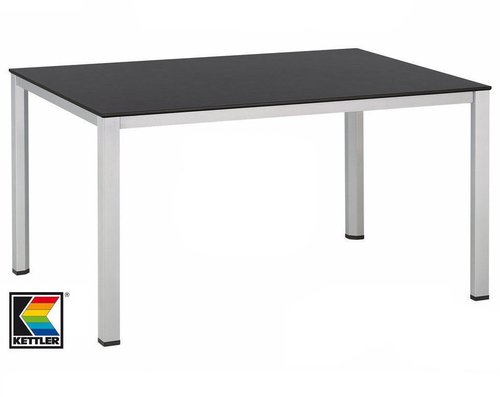 Kettler Advantage Lofttisch 140 x 95 cm silber-anthrazit