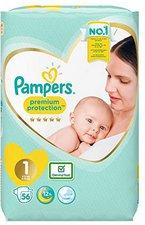 Pampers New Baby Newborn Gr.1 (2-5 kg) 56 Stück
