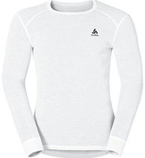 Odlo Shirt l/s crew neck Original Warm Men white