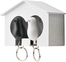Qualy Duo Sparrow (weiß/schwarz)