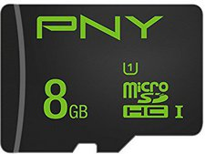 PNY microSD High Performance 8GB Class 10 (SDU8G10HIGPER-EF)