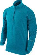 Nike Element Half-Zip Herren Laufoberteil blau