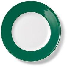 Dibbern Solid Color tannengrün Frühstücksteller 21 cm