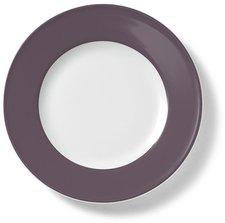 Dibbern Solid Color umbra Frühstücksteller 19 cm