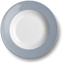 Dibbern Solid Color grau Suppenteller 23 cm tief