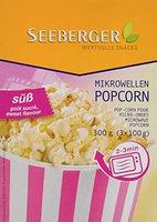 Seeberger Mikrowellen Popcorn süß (300 g)