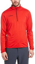 Mammut Snow Zip Longsleeve Men Inferno