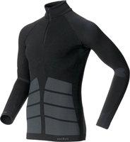 Odlo Shirt l/s 1/2 zip Evolution Warm Men black