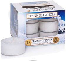 Yankee Candle Tea Lights Season Of Peace (x12)