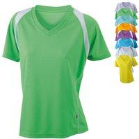 James & Nicholson Ladies' Running-T Atmungsaktives Laufshirt orange