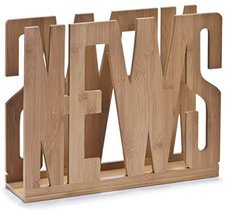 Zeller Magazinständer News Bamboo