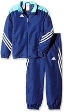 Adidas Kinder Sereno 14 Präsentationsanzug new navy/super cyan