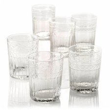De Sina Wasserglas-Set 6-teilig klar