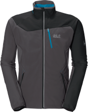 Jack Wolfskin Exhalation Softshell Men Dark Steel