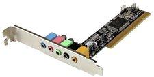 StarTech.com 5.1 Kanal PCI Sounkarte (PCISOUND5CH2)