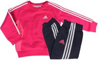Adidas Kinder 3S Jogger rhythm pink/collegiate navy/white