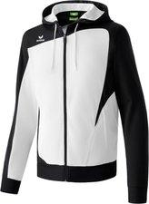 Erima Herren Club 1900 Trainingsjacke mit Kapuze weiß/schwarz