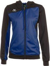 Erima Damen Club 1900 Trainingsjacke mit Kapuze new royal/schwarz