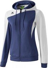 Erima Damen Club 1900 Trainingsjacke mit Kapuze new navy/weiß