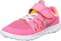 Nike Free 5.0 PSV Girls pink glow/white/atomic mango/metallic silver