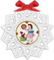 Hutschenreuther Schmuckstern Weihnachtswichtel (02248-723424-27618)