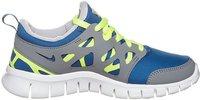 Nike Free Run 2.0 GS grey/blue (443742405)