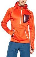 Ortovox Fleece (MI) Zip Neck Hoody M crazy orange