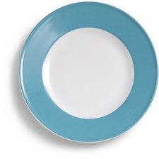 Dibbern Solid Color vintage blue Speiseteller 26 cm