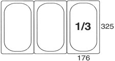 Contacto 200 mm Polycarbonat