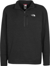 The North Face Men's Gordon Lyons 1/4 Zip Fleecejacket Tnf Black Heather