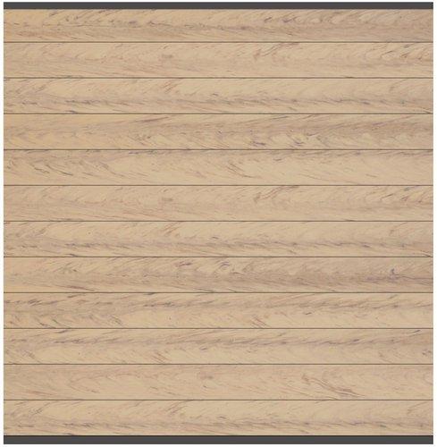Brügmann TraumGarten System WPC Hauptelement 178 x 183 cm sand/Leiste anthrazit