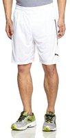 Puma Statement Shorts weiß/schwarz