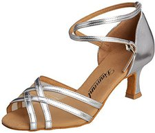 Diamant Dance Shoes 035-077 silber