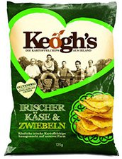 Keogh's Farm Dubliner Irish Cheese und Onion (125g)