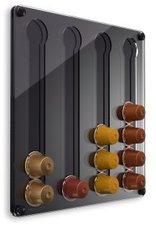 PlexiDisplays Wand-Kapselhalter für Nespresso Klassik Mini